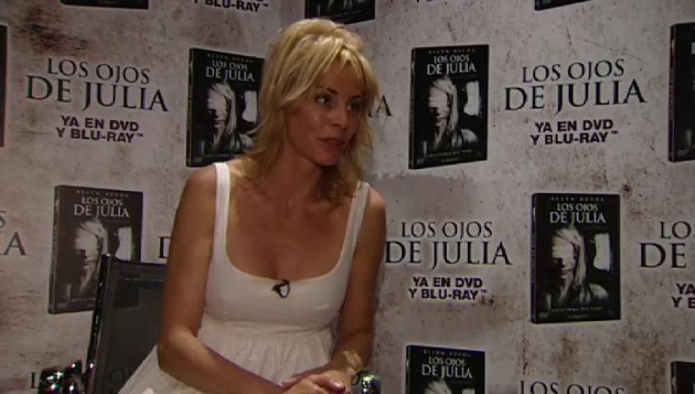 Entrevista a Belén Rueda, protagonista de 'Los Ojos de Julia'