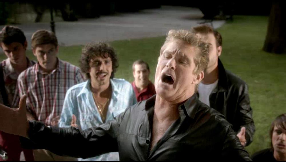 David Hasselhoff en 'Fuga de cerebros 2'.