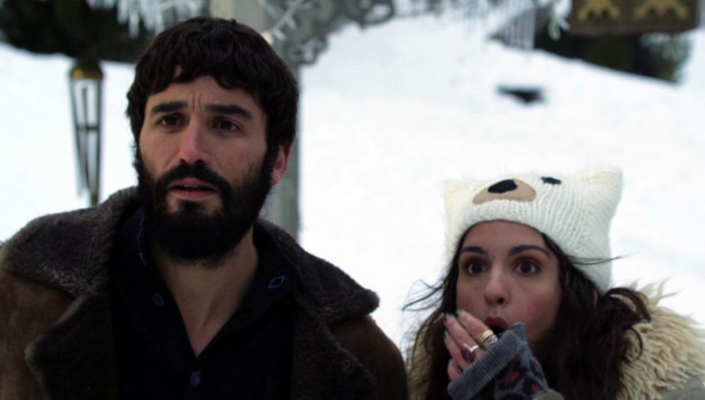 Álex García y Verónica Echegui en 'Kamikaze'