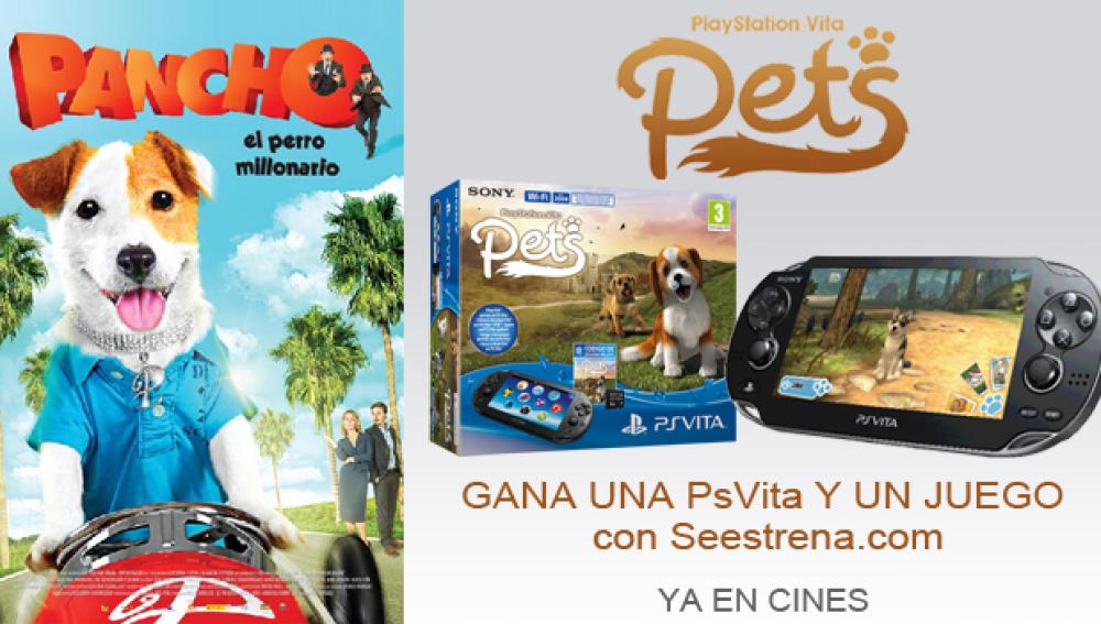 Gana una PsVita y un juego con 'Pancho, la película'