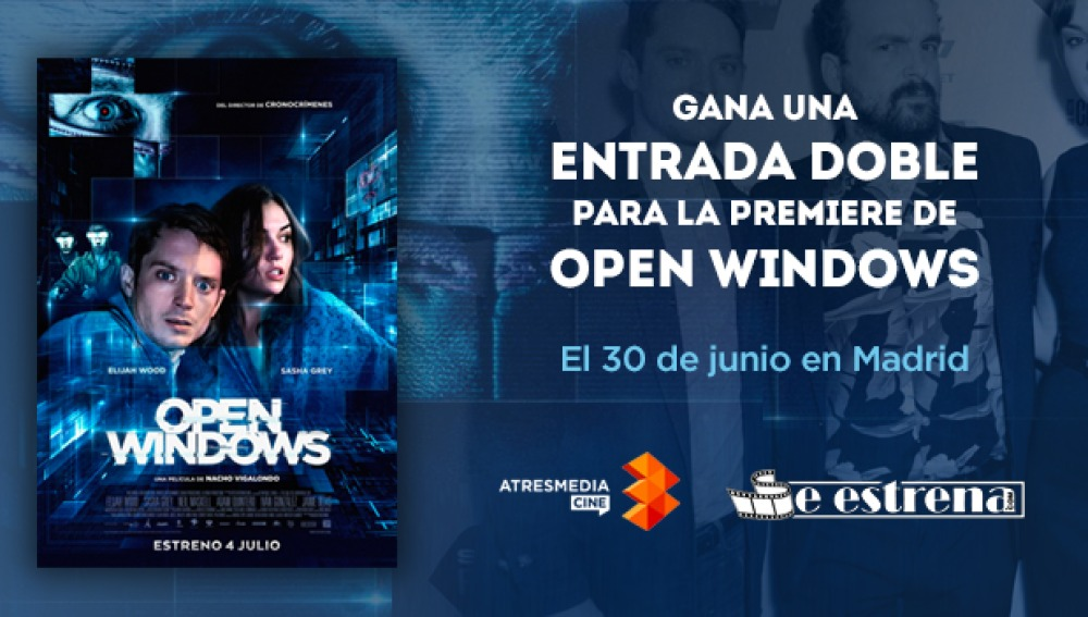'Open Windows', el 4 de julio en cines