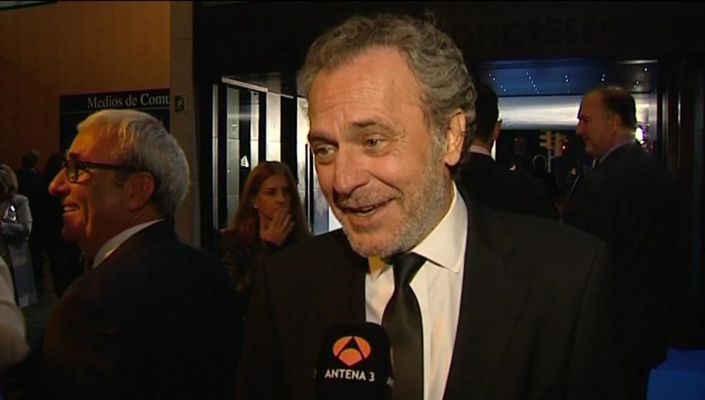 José Coronado en la entrega de los Premios Planeta