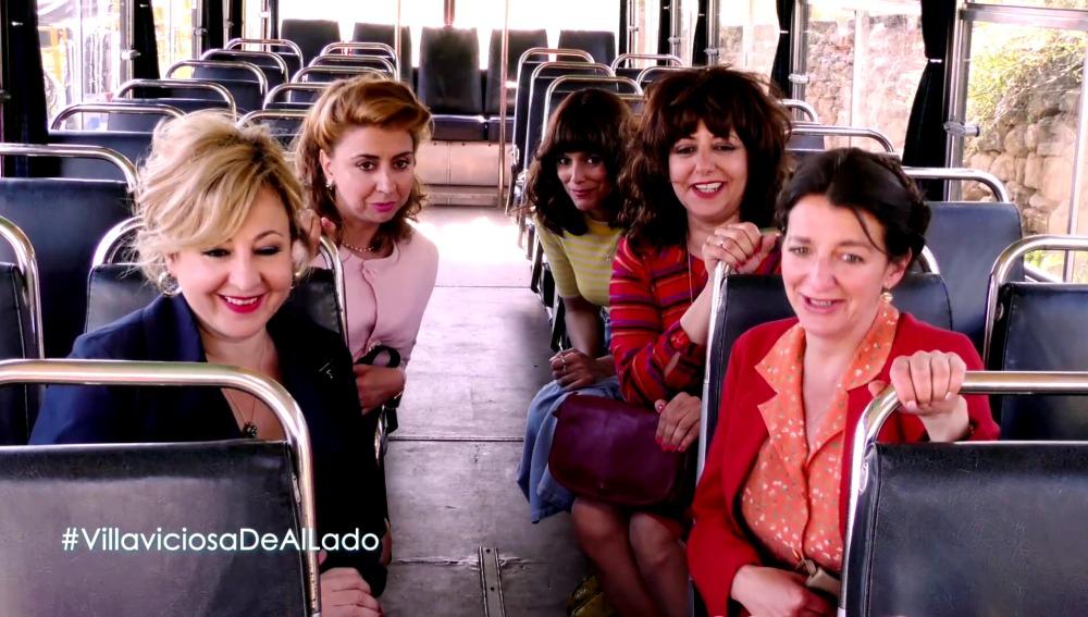 El reparto femenino de 'Villaviciosa de Al Lado'