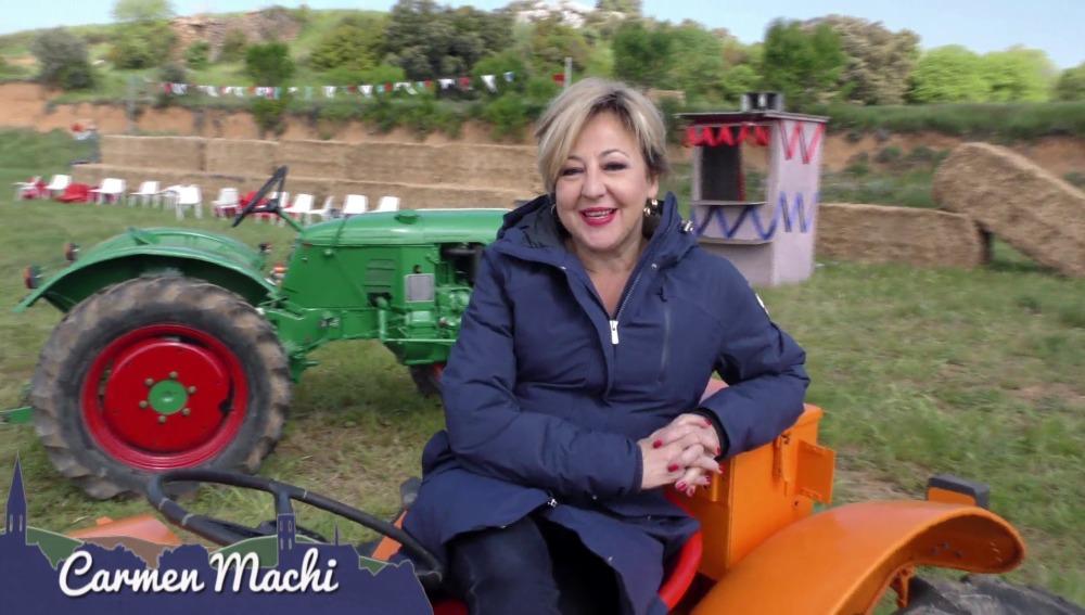Carmen Machi en Villaviciosa de al lado