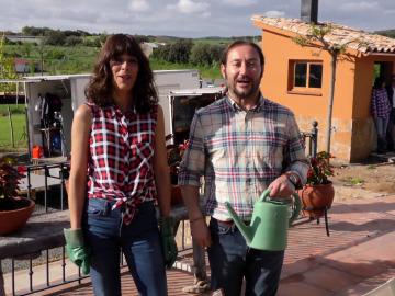 Belén Cuesta y Carlos Santos en 'Villaviciosa de al lado'