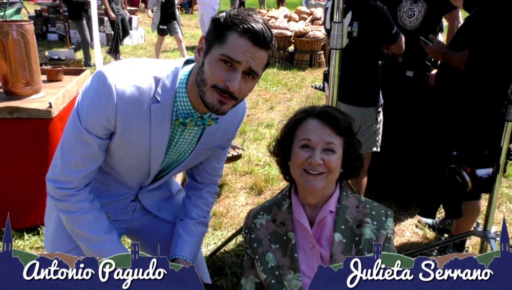 Julieta Serrano y Antonio Pagudo