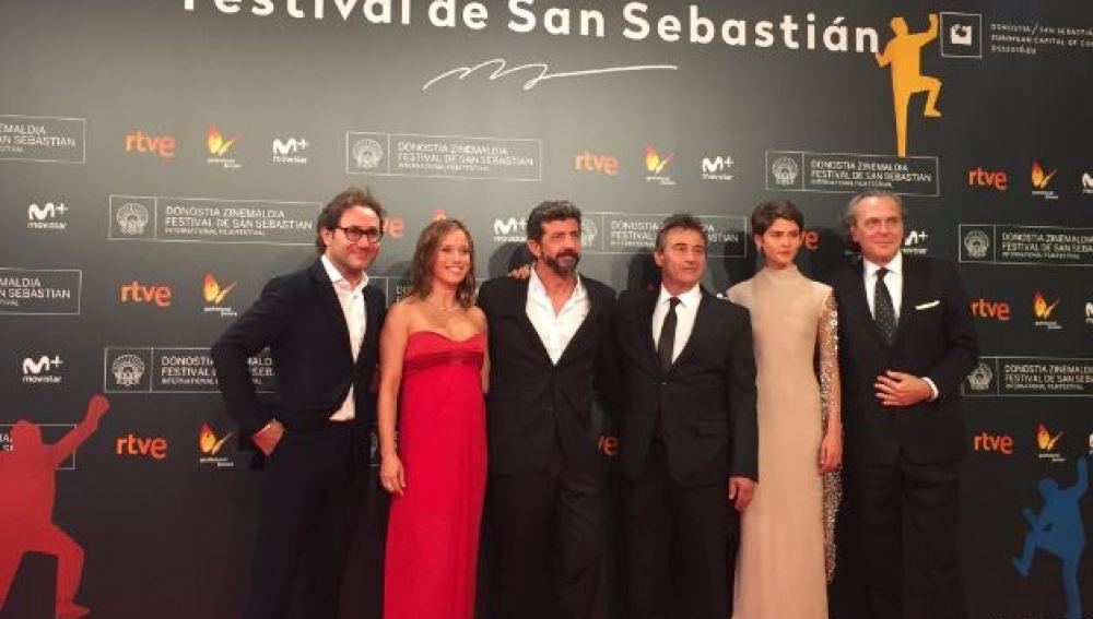 'El hombre de las mil caras' se presenta en el Festival de San Sebastián