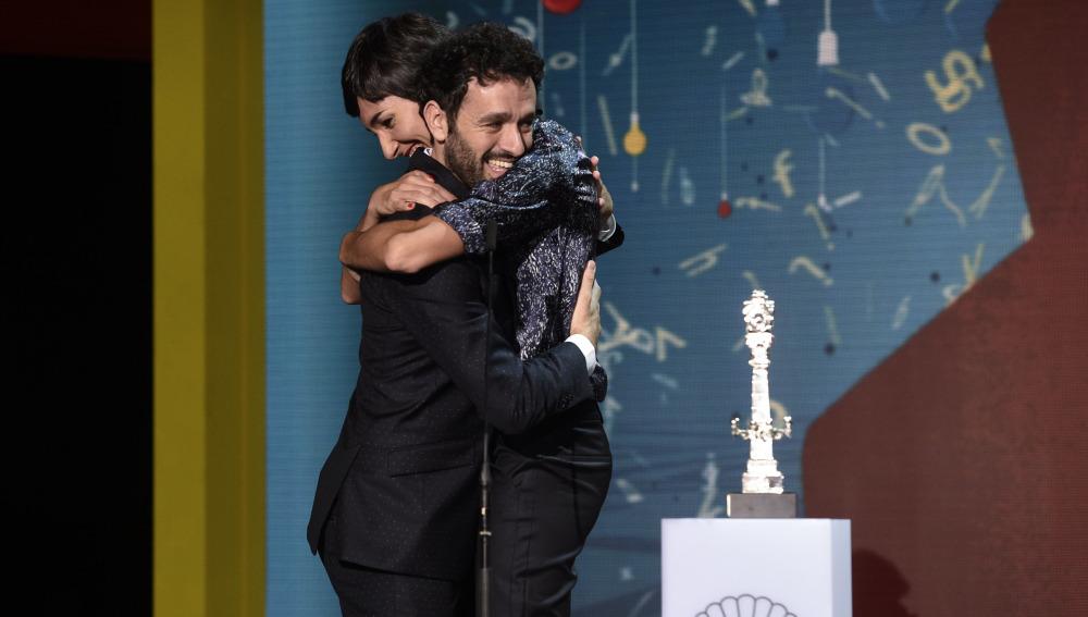 Rodrigo Sorogoyen e Isabel Peña, premio del Jurado al mejor guion por 'Que dios nos perdone'