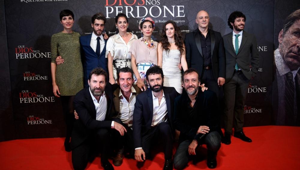 El equipo al completo de 'Que Dios Nos Perdone', en cines el 28 de octubre