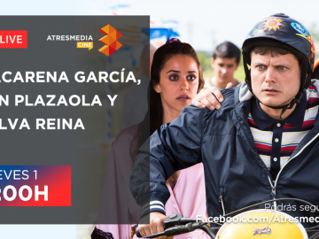 Charla en directo con Jon Plazaola, Salva Reina y Macarena García