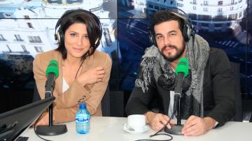 Bárbara Lennie y Mario Casas durante una entrevista en Onda Cero