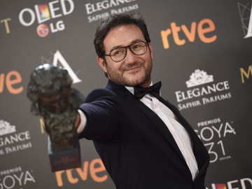 Carlos Santos, Mejor Actor Revelación por 'El hombre de las mil caras'