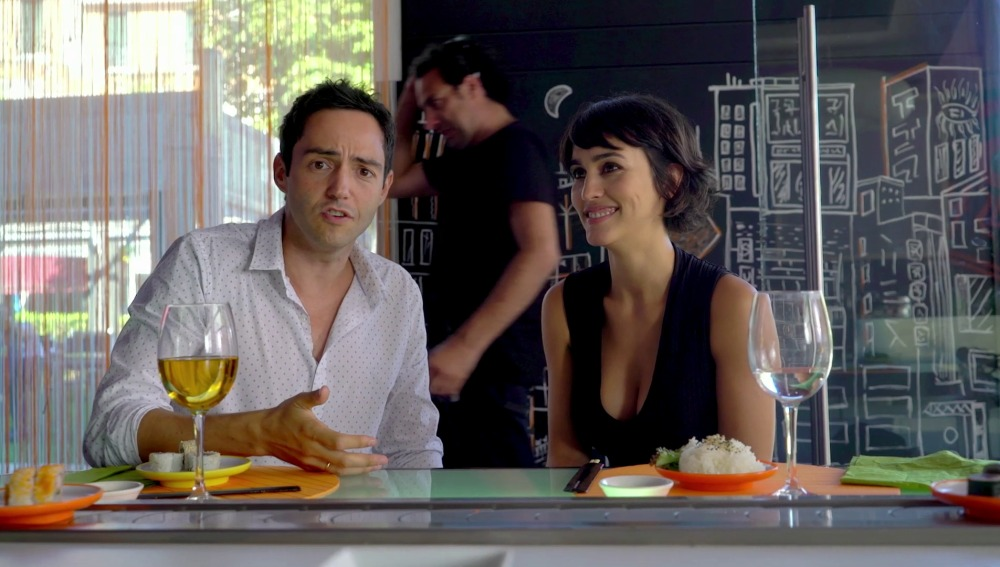 Megan Montaner y David Guapo