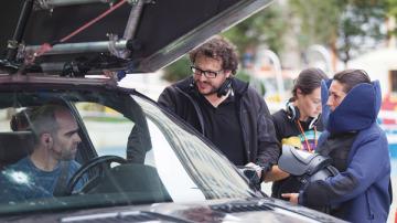 Imagen del rodaje de 'El Desconocido'