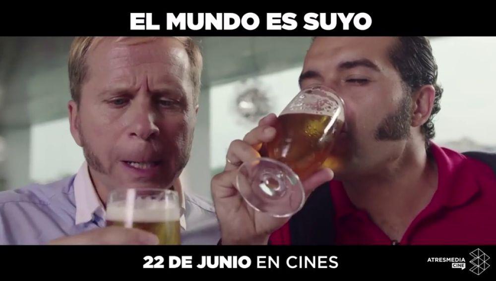 Toma nota de los próximos estrenos de Atresmedia Cine: 'El Mundo es Suyo', 'El Mejor Verano de mi Vida', 'Los Futbolísimos', 'El Reino' y 'La Sombra de la Ley'