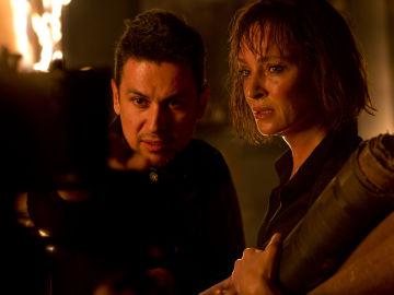 Primera imagen de Blackwood, lo nuevo de Rodrigo Cortés protagonizado por Uma Thurman