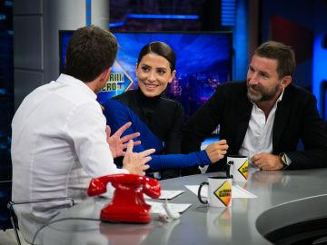 """Bárbara Lennie y Antonio de la Torre aseguran en 'El Hormiguero 3.0' que """"hacer personajes pegados a la realidad tiene su morbo"""""""