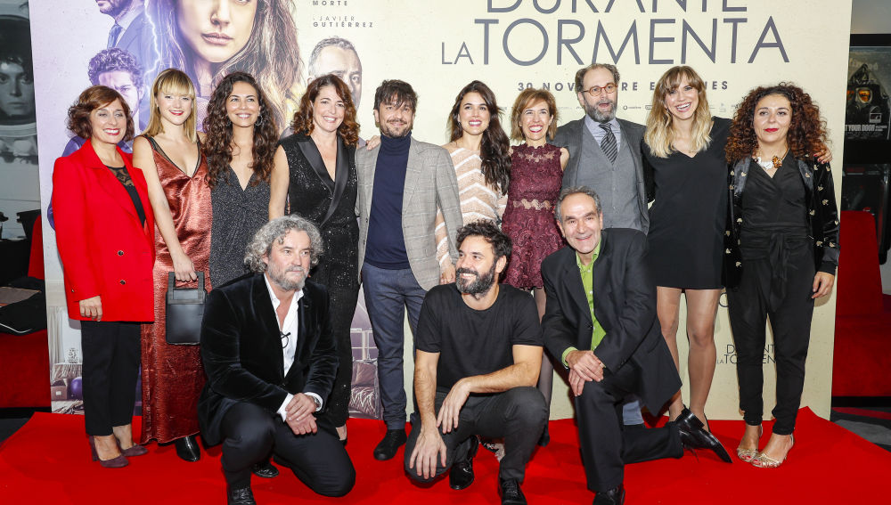 Premiere Barcelona de Durante La Tormenta