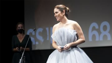 Blanca Suárez presentando la película