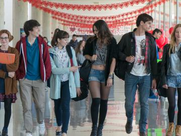 Meri, Bruno, Ester, Eli, Raúl y Val forman 'El Club de los Incomeprendidos'