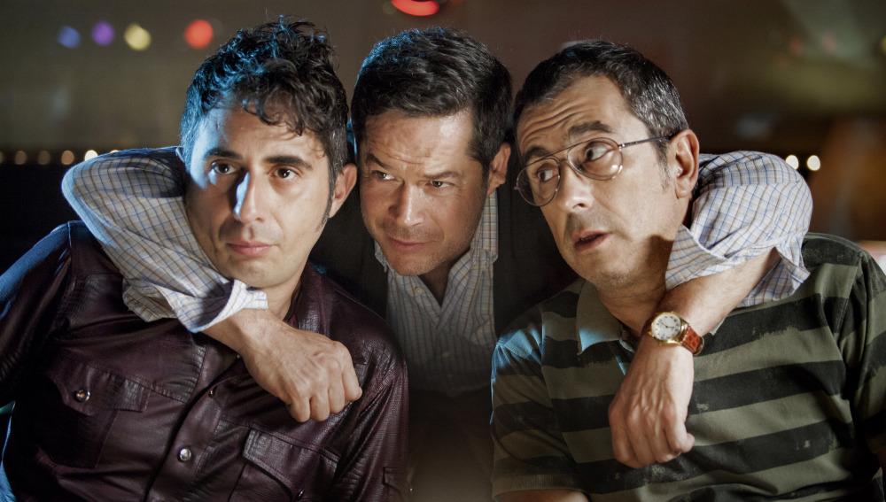 Berto Romero, Jorge Sanz y Andreu Buenafuente