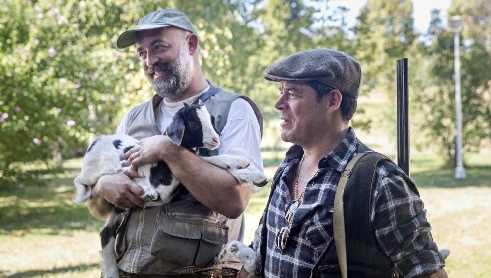 Goyo Jiménez y Jorge Sanz en 'El Pregón