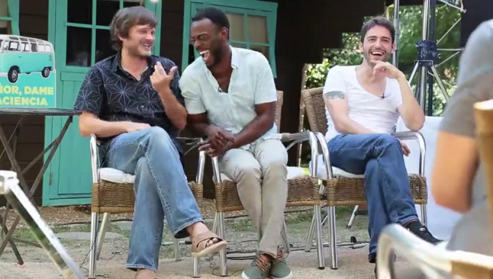 """David Guapo, Boré Buika y Salva Reina: """"'Señor Dame Paciencia' es una comedia familiar a la que puedes ir con quién quieras"""""""