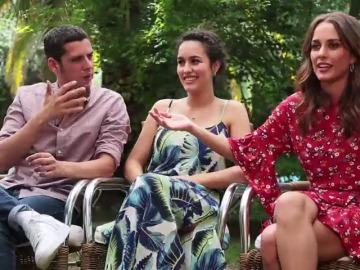 Edu Casanova, Silvia Alonso y Megan Montaner te dan las claves para ir a ver 'Señor Dame Paciencia'