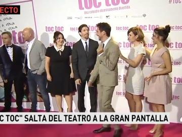 Así fue la premiere de Toc Toc en Madrid con Paco León, Alexandra Jiménez, Nuria Herrero y Adrián Lastra