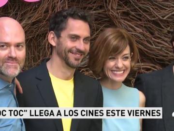 VÍDEO I Así ha sido la presentación de 'Toc Toc' en Madrid