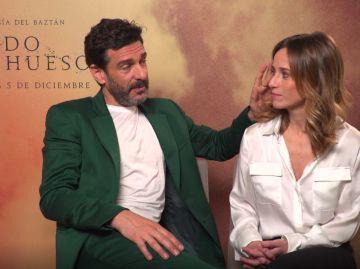 Leonardo Sbaraglia y Marta Etura