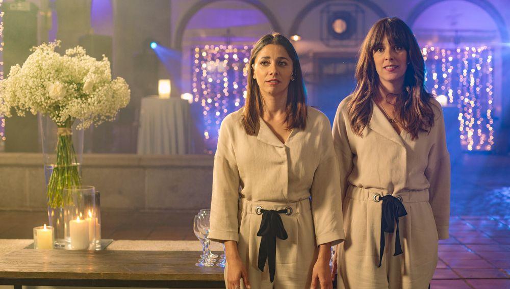 Mariam Hernández y Belén Cuesta en 'Hasta que la boda nos separe'